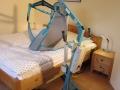 Lifter im kleineren Schlafzimmer