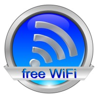 free wifi Button